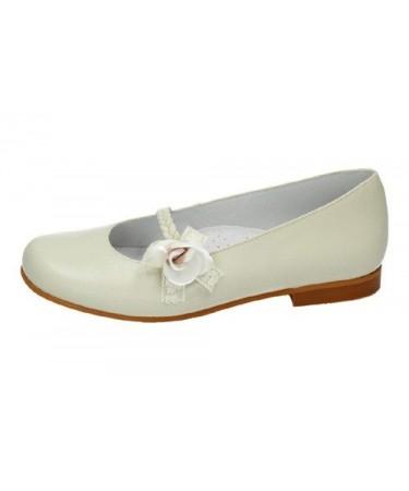 Zapatos de comunion niña con velcro