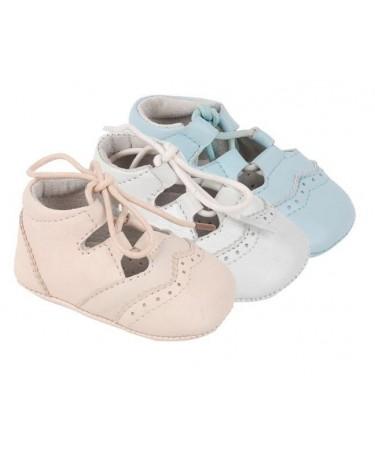 Zapato inglesito Bebe de piel