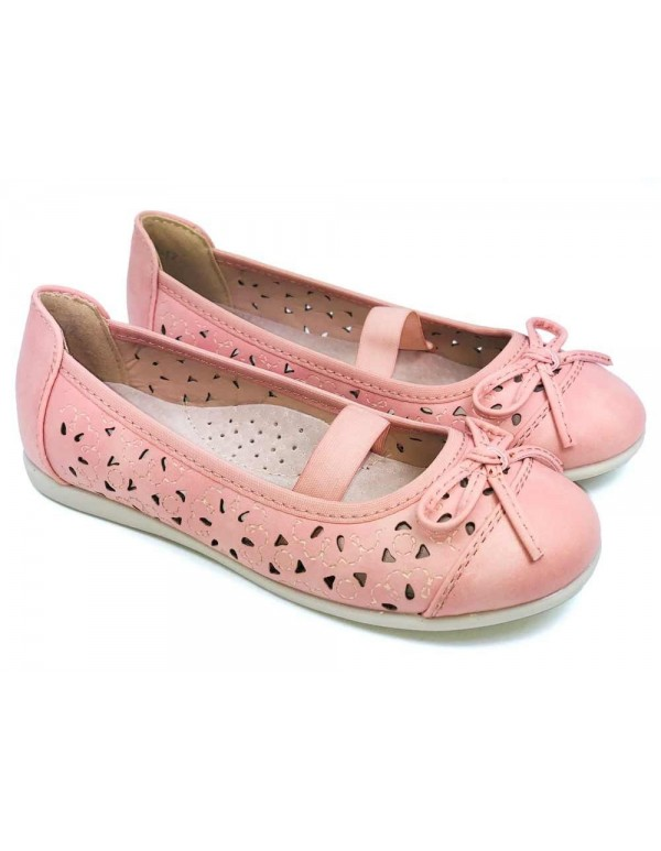 Bailarinas niña manoletinas rosas