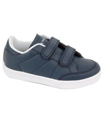 Zapatillas deporte azul puntera reforzada