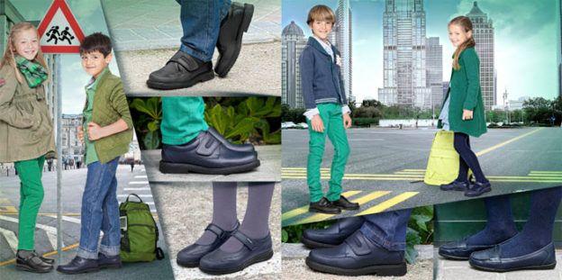 Zapatos colegiales para la vuelta al cole