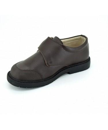 Zapatos colegiales niño de piel