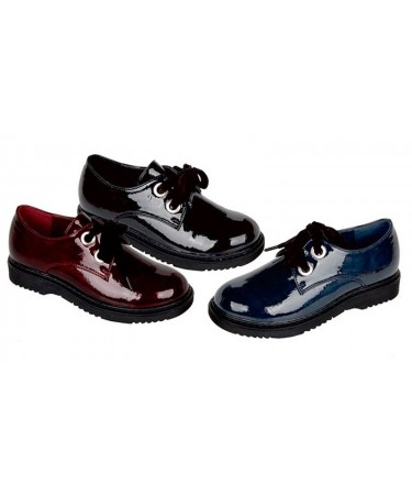 Zapatos blucher para niña