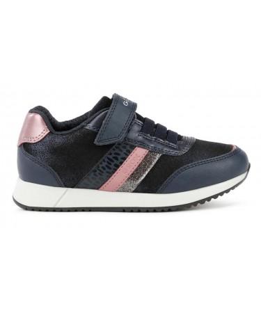 Zapatillas Geox para niña con cinta