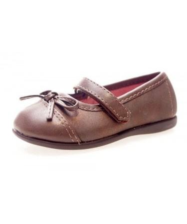 Bailarina marrón chocolate