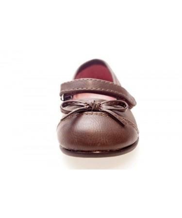 59714f31a5a Bailarina marron chocolate. Calzado infantil barato. Color Marrón ...