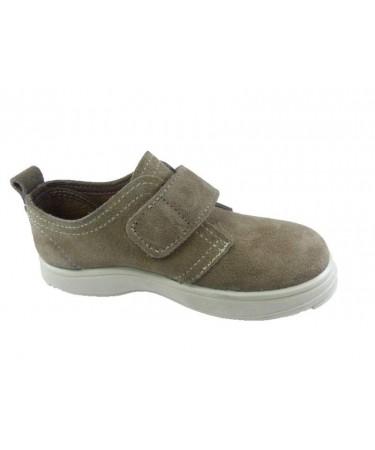 Zapato niño serraje con velcro