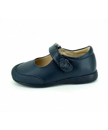Zapatos colegiales niña de piel baratos