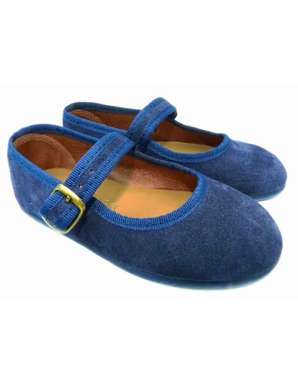 Bailarinas niña azul marino