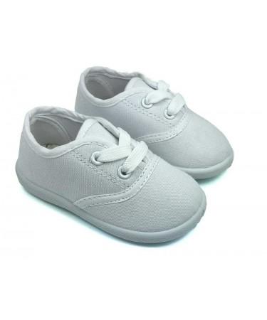 390e1aeed Zapatillas de lona con cordones baratas. Calzado infantil online ...