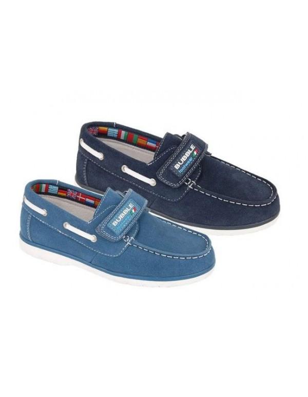 Zapatos nauticos niño de piel