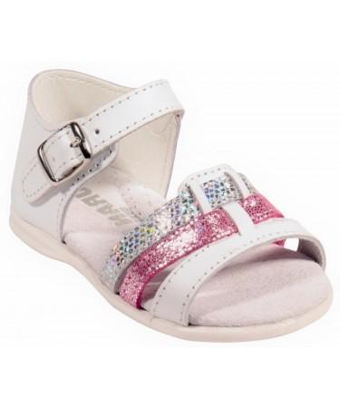 Sandalias de piel nacional niña