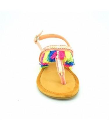 Sandalias niña de dedo