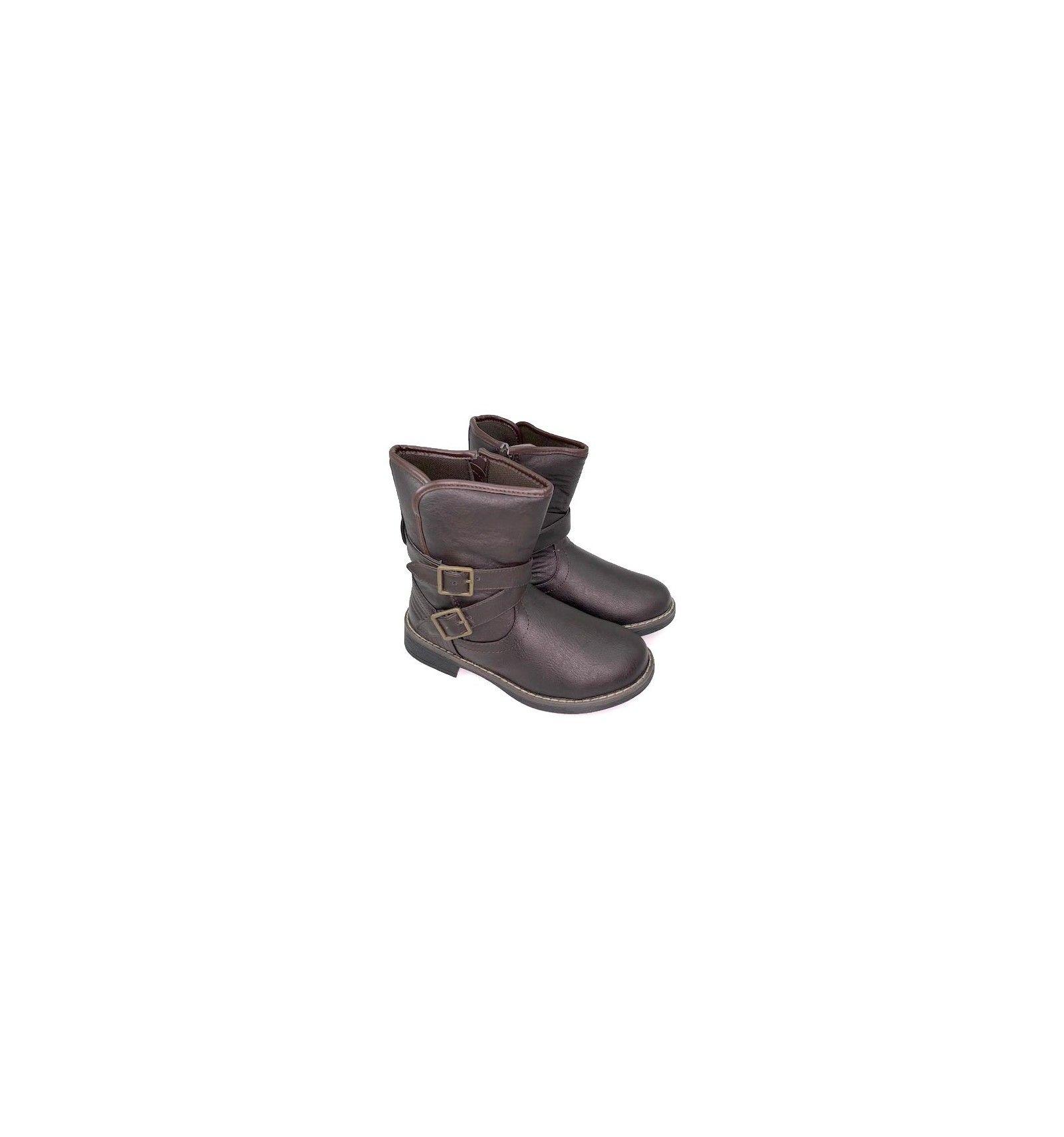 87ff5142e96 Botas niña con hebilla. Botas baratas. Zapatos niña online.