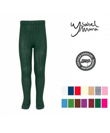 Leotardo verde botella marino Ysabel Mora