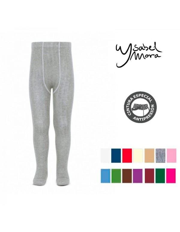 Leotardo gris clarito Ysabel Mora