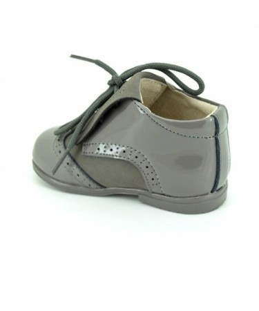 Zapatos blucher con flecos