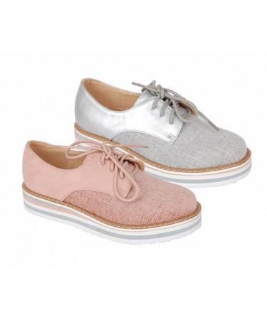 Zapatos blucher niña suela ancha