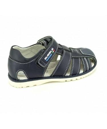 d20b107fb8f Sandalias para niños en color azul o azul marino con interior de piel para  la comodidad de tu hijo.