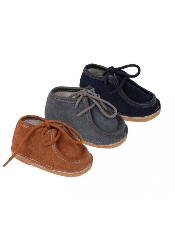 Zapatos de bebe tipo mocasin