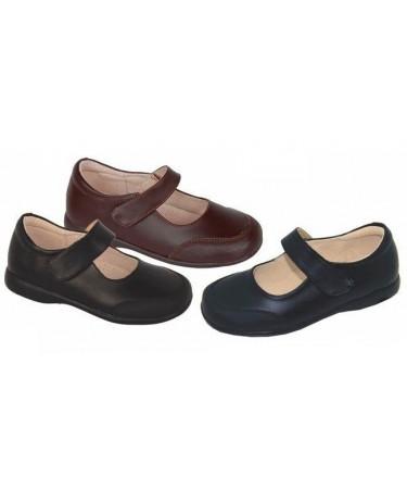 Zapatos colegiales niña...