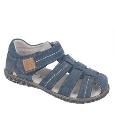Sandalias para niño de piel...