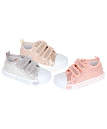 Zapatillas lona de niña baratas
