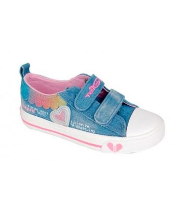 Zapatillas para niña tejido...
