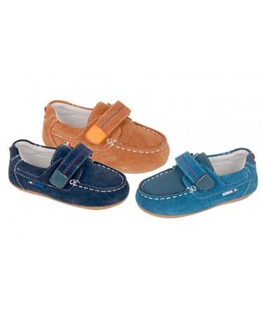 Zapato nautico niño de piel