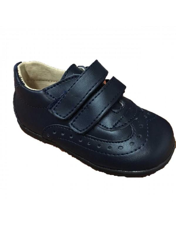 Zapato ingles con velcro