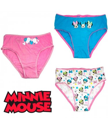 Pack 3 braguitas Minnie Mouse