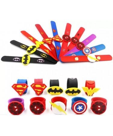 Pulseras Superheroes