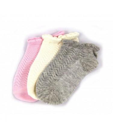 Pack 3 calcetines niña