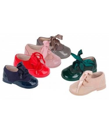 Zapatos blucher de piel unisex