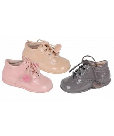 Zapatos niña tipo inglesito