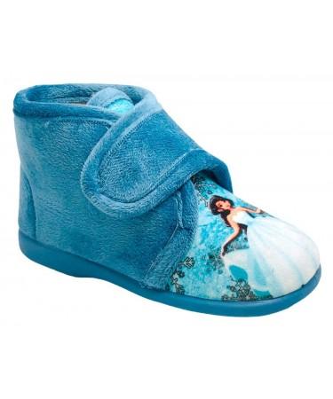 Zapatillas casa para niña con cinta de cierre