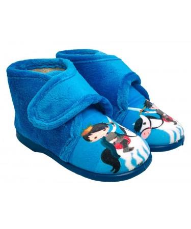 Zapatillas de casa con talonera