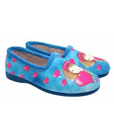Zapatillas de casa para niña invierno