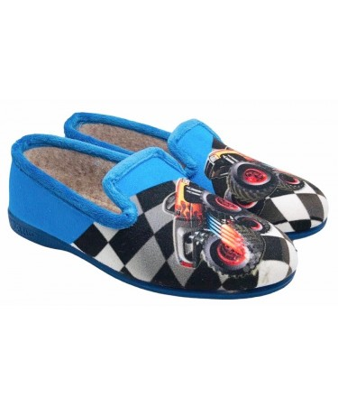Zapatillas de casa niño con talonera
