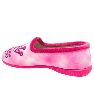 Zapatillas casa para niña talonera