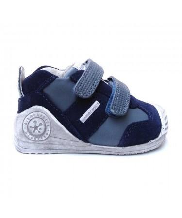 Zapatos biomecanics azul