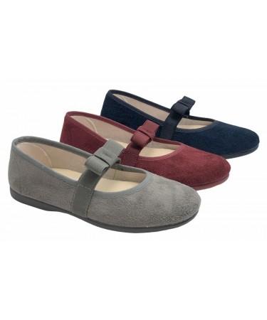 Zapatos niña elastico empeine