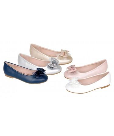 Zapatos niña tipo manoletinas