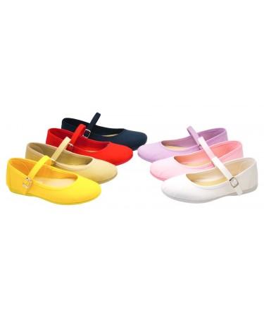 Zapatos niña nacionales en lona