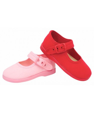 Zapatos de niña de lona