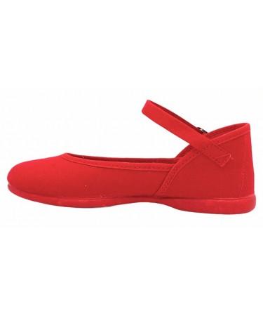 Zapatos niña de lona nacionales