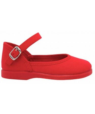 Zapatos niña de lona