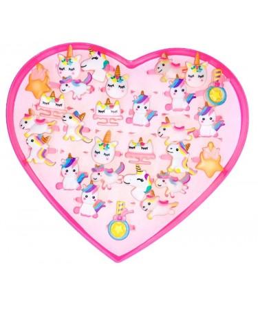 Anillos para niñas unicornios
