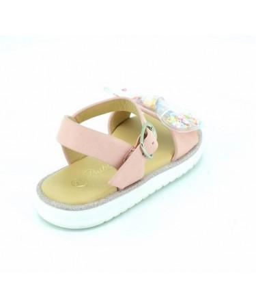 Sandalias niña con lazo moderno