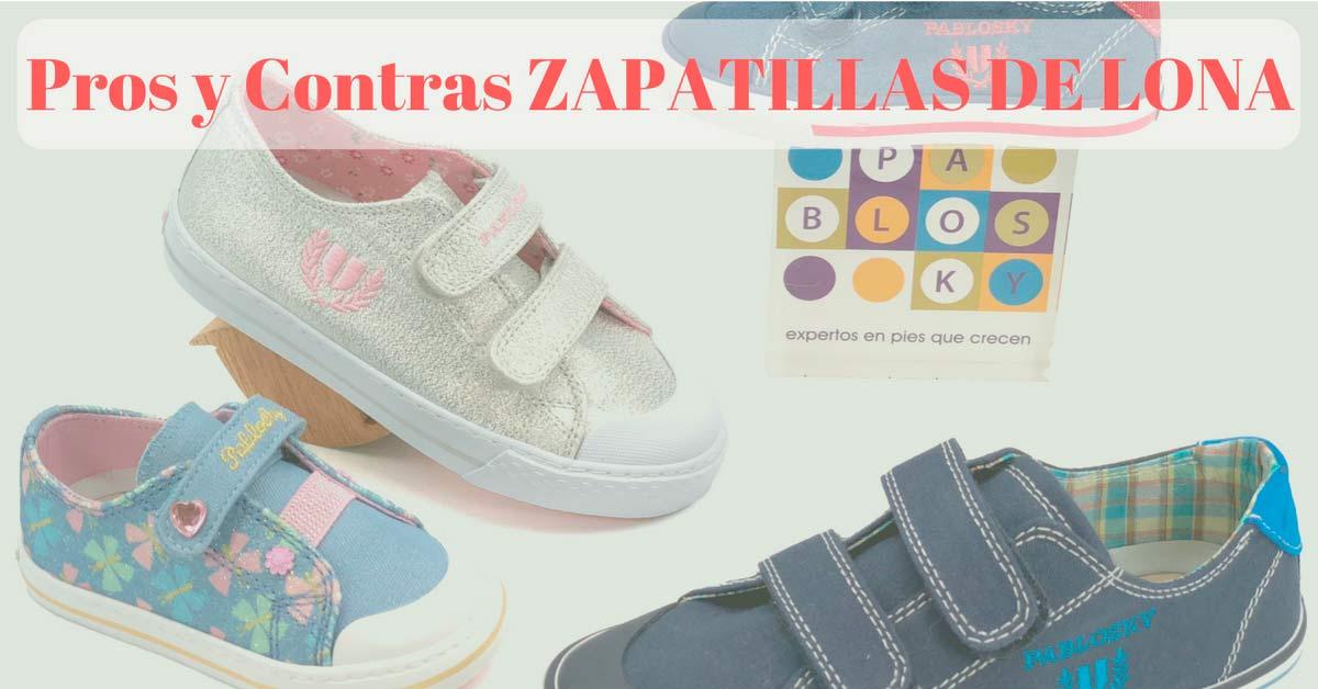 Pros y contras de las Zapatillas lona